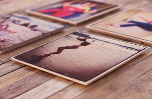 Print op hout - zonder witte laag